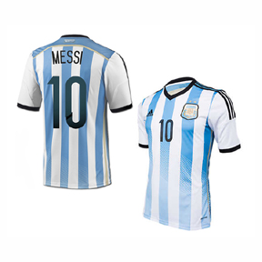 adidas  Argentina Lionel Messi #10 Official Soccer Jersey (Home 2014)