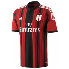 adidas AC Milan Soccer Jersey (Home 2014/15)