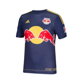 adidas Youth NY Red Bulls Soccer Jersey (Away 15/16)