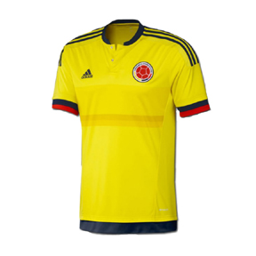 adidas Youth Colombia Soccer Jersey (Home 15/16)