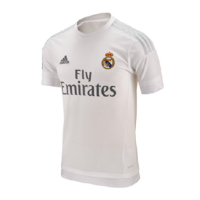 adidas Real Madrid Soccer Jersey (Home 15/16)