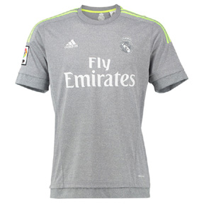adidas Real Madrid Soccer Jersey (Away 2015/16)