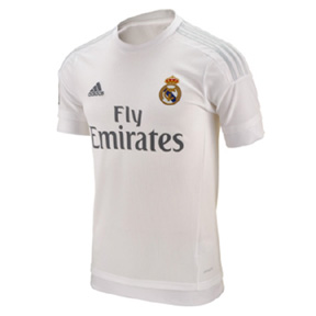 adidas Youth Real Madrid Soccer Jersey (Home 2015/16)