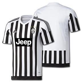 adidas Youth Juventus Soccer Jersey (Home 2015/16)