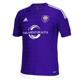 adidas  Orlando City Soccer Jersey (Home 2015/16)