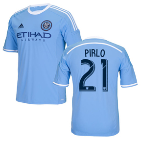 adidas NYCFC Pirlo #21 Soccer Jersey (Home 2016/17)