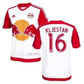 adidas  NY Red Bulls  Kljestan #16 Jersey (Home 16/17)