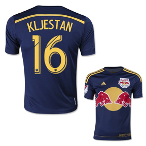 adidas  NY Red Bulls  Kljestan #16 Jersey (Away 15/16)