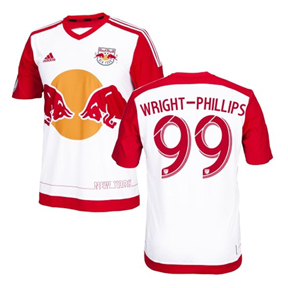adidas  NY Red Bulls  Wright-Phillips #99 Jersey (Home 16/17)