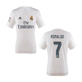 adidas Youth Real Madrid Cristiano Ronaldo #7 Jersey (Home 15/16)