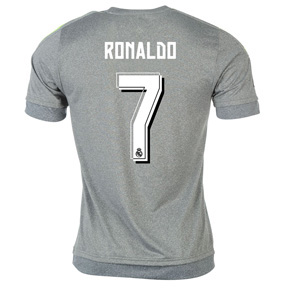 adidas Youth Real Madrid Cristiano Ronaldo #7 Jersey (Away 15/16)