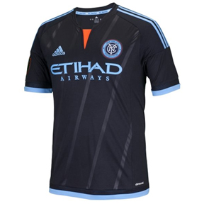 adidas Youth NYCFC Soccer Jersey (Away 2015/16)