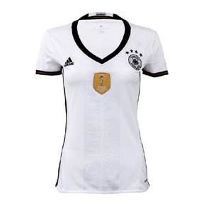 adidas Womens Germany Soccer Jersey (Home 16/17)