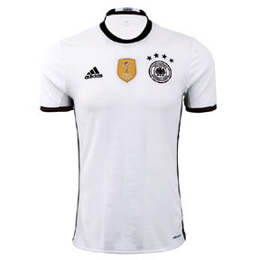 adidas  Germany  Soccer Jersey (Home 2016)