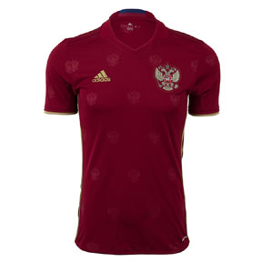 adidas  Russia  Soccer Jersey (Home 2016/17)