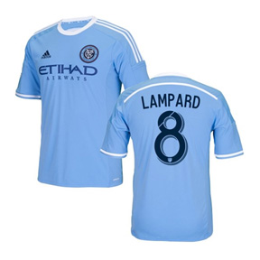 adidas Youth NYCFC Lampard #8 Soccer Jersey (Home 16/17)