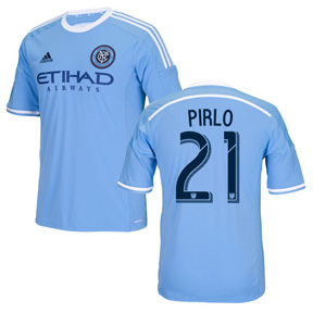 adidas Youth NYCFC Pirlo #21 Soccer Jersey (Home 16/17)