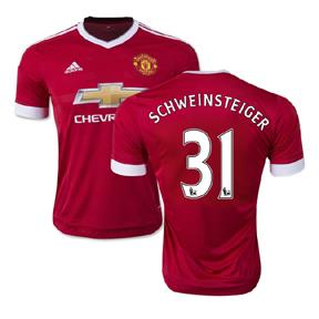 adidas Manchester United Schweinsteiger #31 Jersey (Home 15/16)