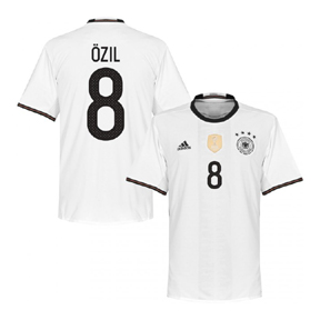 adidas  Germany  Ozil #8 Soccer Jersey (Home 2016)