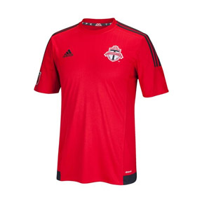 adidas  Toronto FC Soccer Jersey (Home 2015/16)
