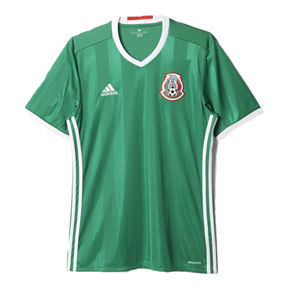 adidas  Mexico  Soccer Jersey (Home 2016/17)