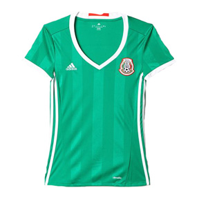 adidas Womens  Mexico  Soccer Jersey (Home 2016/17)