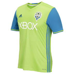 adidas Seattle Sounders Soccer Jersey (Home 16/17)