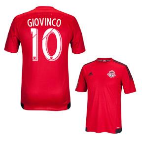 adidas Toronto FC Giovinco #10 Soccer Jersey (Home 2015/16)