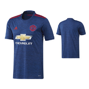 adidas  Manchester United Soccer Jersey (Away 2016/17)