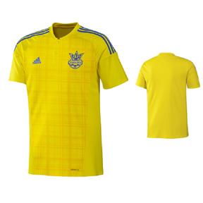 adidas  Ukraine  Soccer Jersey (Home 2016/17)