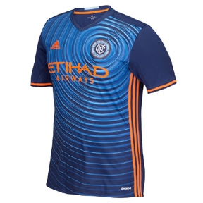 adidas Youth  NYCFC Soccer Jersey (Away 2016/18)