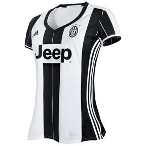 adidas Womens  Juventus Soccer Jersey (Home 2016/17)