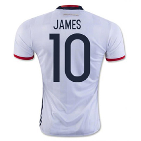 adidas Youth  Colombia  James #10 Soccer Jersey (Home 16/17)