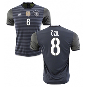 adidas Youth Germany Ozil #8 Soccer Jersey (Away 16/17)