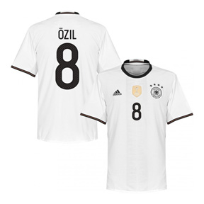 adidas Youth  Germany  Ozil #8 Soccer Jersey (Home 2016)