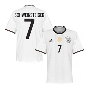 adidas Youth  Germany  Schweinsteiger #7 Jersey (Home 2016)