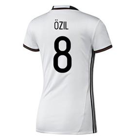 adidas Womens  Germany  Ozil #8 Soccer Jersey (Home 2016)