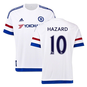 adidas Chelsea Hazard  #10 Soccer Jersey (Away 2015/16)