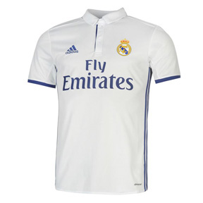 adidas Youth Real Madrid  Soccer Jersey (Home 16/17)