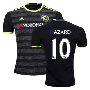adidas Youth  Chelsea  Hazard #10 Soccer Jersey (Away 2016/17)