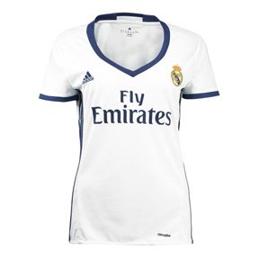 adidas Womens  Real Madrid  Soccer Jersey (Home 2016/17)