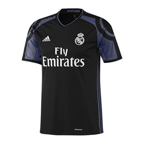 adidas Youth   Real Madrid  Soccer Jersey (Alternate 2016/17)