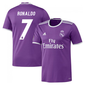 adidas  Real Madrid  Cristiano Ronaldo #7 Jersey (Away 2016/17)