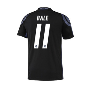 adidas Youth   Real Madrid  Bale #11 Soccer Jersey (3rd - 2016/17)