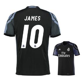 adidas  Real Madrid  James #10 Soccer Jersey (Alternate - 2016/17)