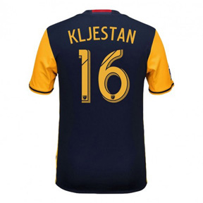 adidas Youth NY Red Bulls Kljestan #16 Soccer Jersey (Away 16/17)