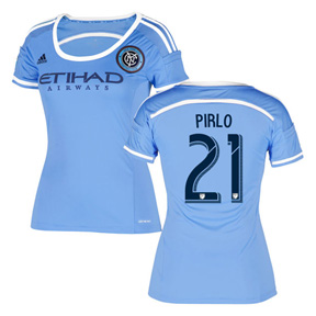 adidas Womens  NYCFC  Pirlo #21 Soccer Jersey (Home 2016/17)