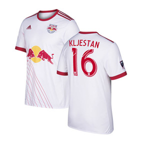 adidas Youth  NY Red Bulls   Kljestan #16 Jersey (Home 17/18)