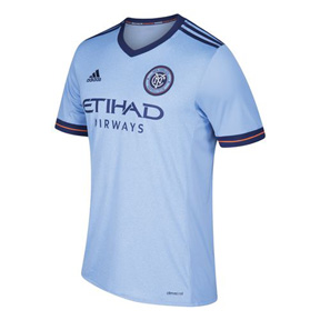 adidas  NYCFC  Soccer Jersey (Home 2017/18)