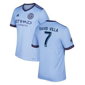 adidas  NYCFC  Villa #7 Soccer Jersey (Home 2017/18)